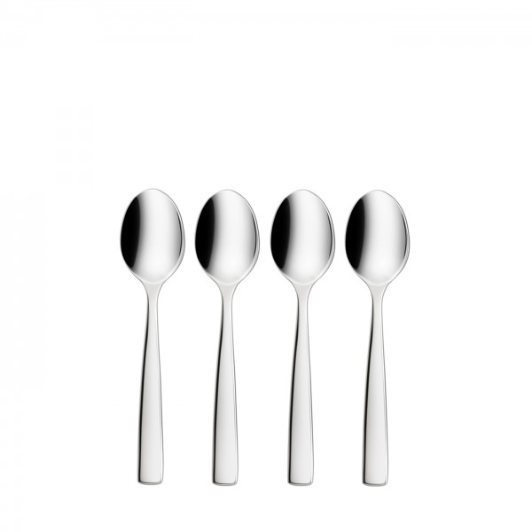 SILVER LINE Espresso spoon - 4 pc set