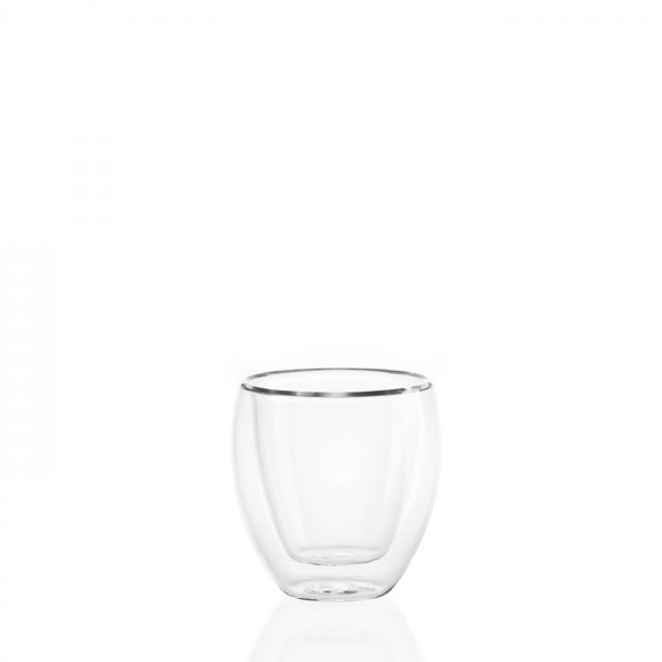 DOUBLE WALL Glass 80ml - 2 pc set